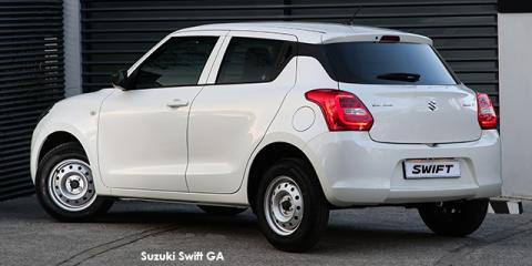 Suzuki Swift 1.2 GA - Image credit: © 2018 duoporta. Generic Image shown.
