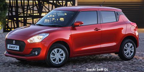 Suzuki Swift 1.2 GL auto - Image credit: © 2020 duoporta. Generic Image shown.