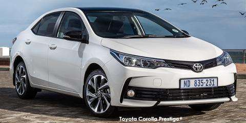 Toyota Corolla 1.6 Prestige+ auto - Image credit: © 2020 duoporta. Generic Image shown.