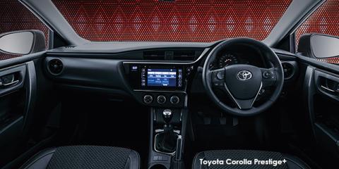 Toyota Corolla 1.6 Prestige+ auto - Image credit: © 2018 duoporta. Generic Image shown.