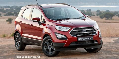 Ford EcoSport 1.0T Trend auto - Image credit: © 2019 duoporta. Generic Image shown.