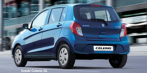Suzuki Celerio 1.0 GA - Image credit: © 2019 duoporta. Generic Image shown.