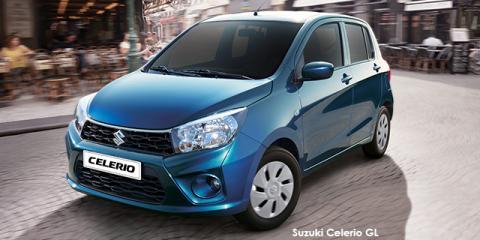 Suzuki Celerio 1.0 GL auto - Image credit: © 2020 duoporta. Generic Image shown.