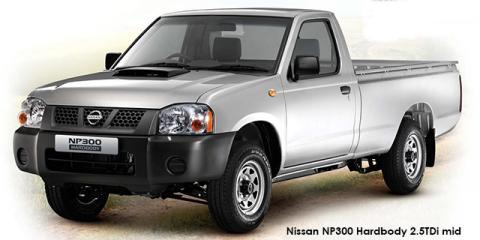 Nissan NP300 Hardbody 2.5TDi (aircon) - Image credit: © 2019 duoporta. Generic Image shown.
