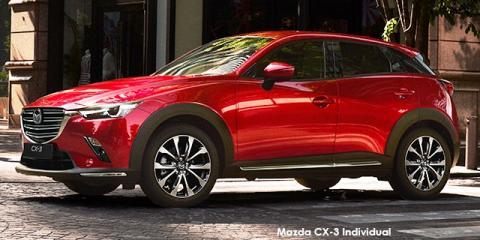 Mazda CX-3 2.0 Individual Plus auto - Image credit: © 2020 duoporta. Generic Image shown.