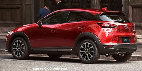 Mazda CX-3 2.0 Individual Plus auto - Image credit: © 2019 duoporta. Generic Image shown.