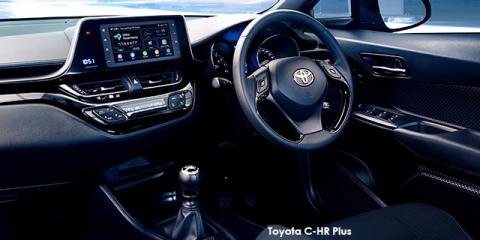 Toyota C-HR 1.2T Plus auto - Image credit: © 2019 duoporta. Generic Image shown.