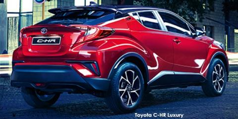 Toyota C-HR 1.2T Luxury - Image credit: © 2019 duoporta. Generic Image shown.