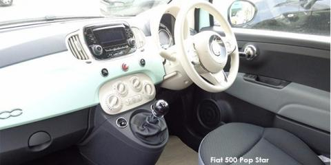 Fiat 500 TwinAir Pop Star auto - Image credit: © 2019 duoporta. Generic Image shown.