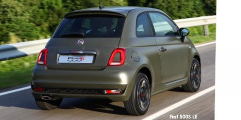 Fiat 500S TwinAir cabriolet LE - Image credit: © 2020 duoporta. Generic Image shown.