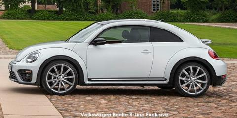 Volkswagen Beetle 1.4TSI R-Line Exclusive - Image credit: © 2018 duoporta. Generic Image shown.