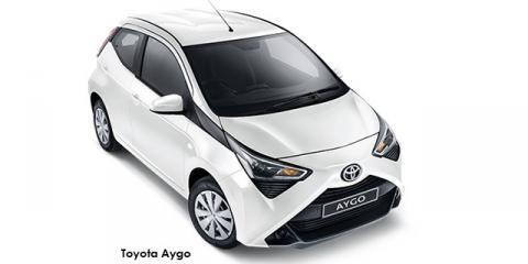 Toyota Aygo 1.0 - Image credit: © 2019 duoporta. Generic Image shown.