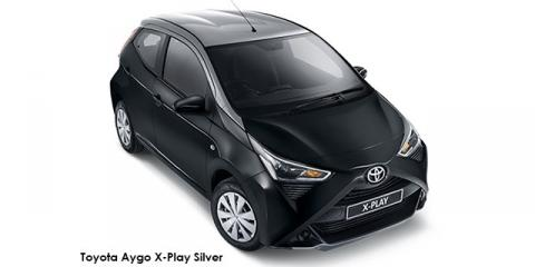 Toyota Aygo 1.0 X-Play - Image credit: © 2019 duoporta. Generic Image shown.