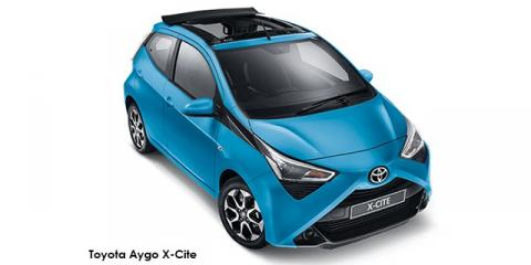 Toyota Aygo 1.0 X-Cite - Image credit: © 2019 duoporta. Generic Image shown.
