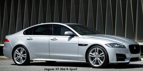 Jaguar XF 20d R-Sport - Image credit: © 2019 duoporta. Generic Image shown.
