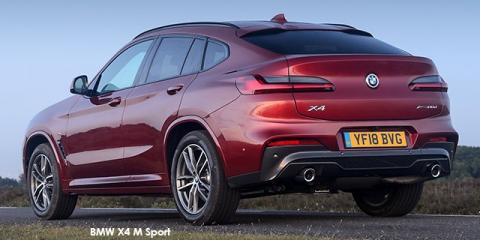 BMW X4 xDrive20i M Sport - Image credit: © 2019 duoporta. Generic Image shown.