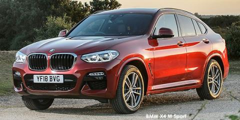 BMW X4 xDrive20d M Sport - Image credit: © 2019 duoporta. Generic Image shown.