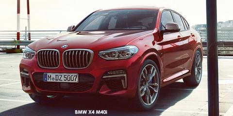 BMW X4 M40i - Image credit: © 2019 duoporta. Generic Image shown.