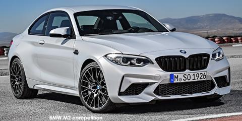 BMW M2 competition auto - Image credit: © 2020 duoporta. Generic Image shown.
