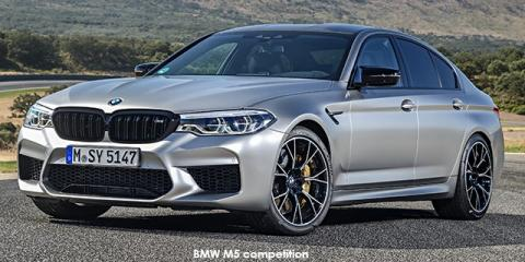 BMW M5 competition - Image credit: © 2020 duoporta. Generic Image shown.