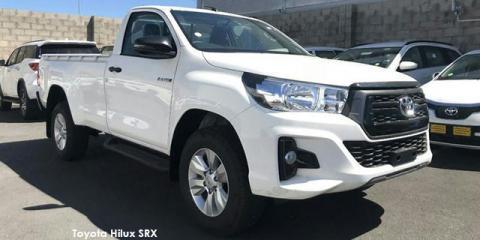 Toyota Hilux 2.4GD-6 4x4 SRX auto - Image credit: © 2019 duoporta. Generic Image shown.