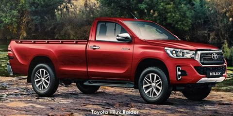 Toyota Hilux 2.8GD-6 Raider auto - Image credit: © 2019 duoporta. Generic Image shown.