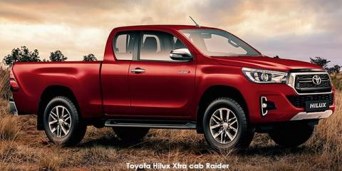 Toyota Hilux 2.8GD-6 Xtra cab 4x4 Raider - Image credit: © 2019 duoporta. Generic Image shown.