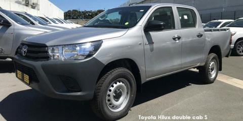 Toyota Hilux 2.4GD-6 double cab S - Image credit: © 2019 duoporta. Generic Image shown.