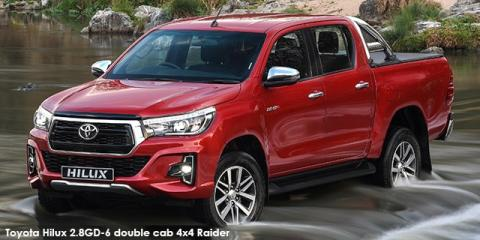 Toyota Hilux 2.4GD-6 double cab SRX auto - Image credit: © 2018 duoporta. Generic Image shown.