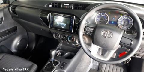 Toyota Hilux 2.4GD-6 double cab SRX auto - Image credit: © 2019 duoporta. Generic Image shown.
