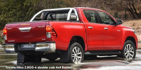Toyota Hilux 2.8GD-6 double cab 4x4 Raider auto - Image credit: © 2019 duoporta. Generic Image shown.