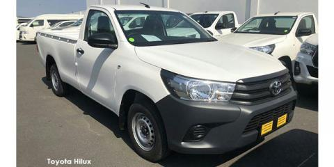 Toyota Hilux 2.4GD (aircon) - Image credit: © 2019 duoporta. Generic Image shown.