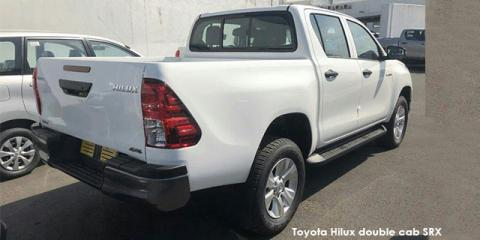 Toyota Hilux 2.4GD-6 double cab 4x4 SRX auto - Image credit: © 2019 duoporta. Generic Image shown.