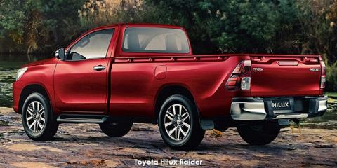 Toyota Hilux 2.4GD-6 SRX auto - Image credit: © 2018 duoporta. Generic Image shown.