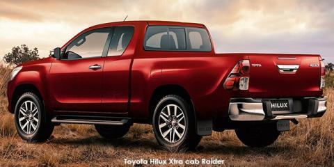 Toyota Hilux 2.4GD-6 Xtra cab SRX auto - Image credit: © 2018 duoporta. Generic Image shown.