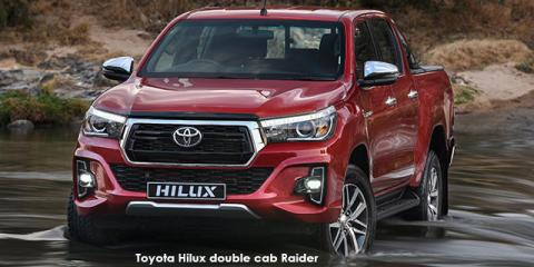 Toyota Hilux 2.8GD-6 double cab Raider auto - Image credit: © 2019 duoporta. Generic Image shown.