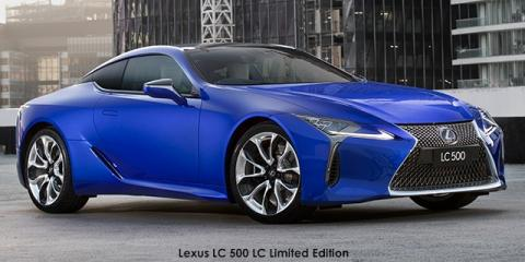 Lexus LC 500 LC Limited Edition - Image credit: © 2018 duoporta. Generic Image shown.