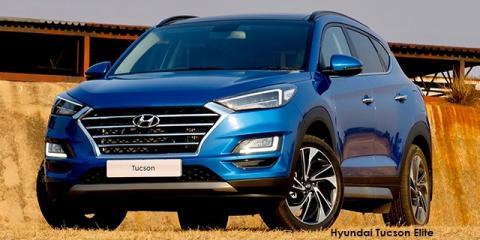 Hyundai Tucson 1.6T Elite - Image credit: © 2020 duoporta. Generic Image shown.