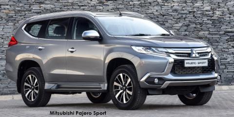 Mitsubishi Pajero Sport 2.4 D4 - Image credit: © 2018 duoporta. Generic Image shown.