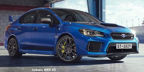 Subaru WRX STi Premium - Image credit: © 2020 duoporta. Generic Image shown.