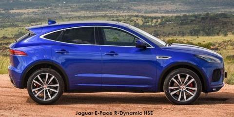 Jaguar E-Pace P200 AWD R-Dynamic HSE - Image credit: © 2019 duoporta. Generic Image shown.