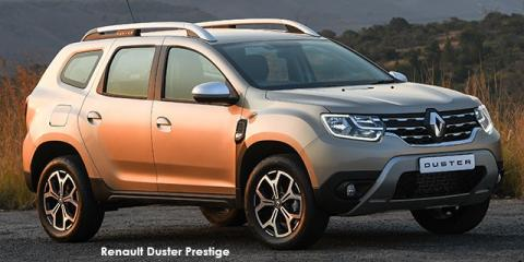 Renault Duster 1.5dCi Prestige - Image credit: © 2019 duoporta. Generic Image shown.