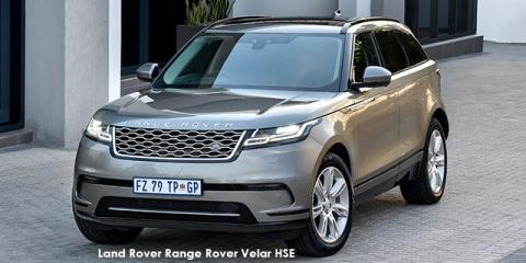 Land Rover Range Rover Velar P300 HSE - Image credit: © 2018 duoporta. Generic Image shown.