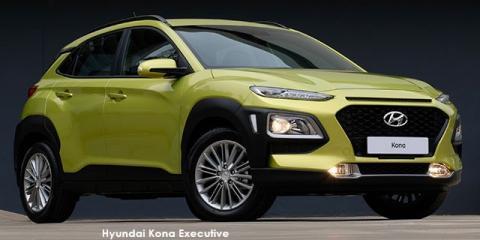 Hyundai Kona 1.0T Executive - Image credit: © 2020 duoporta. Generic Image shown.