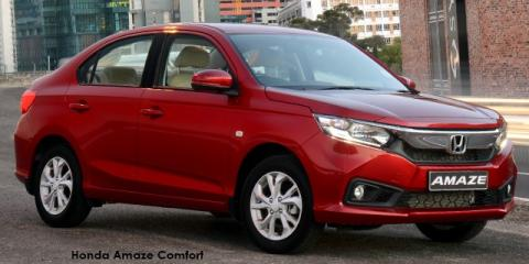 Honda Amaze 1.2 Trend - Image credit: © 2020 duoporta. Generic Image shown.
