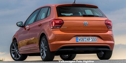 Volkswagen Polo hatch 1.0TSI Highline auto - Image credit: © 2019 duoporta. Generic Image shown.