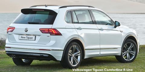 Volkswagen Tiguan 2.0TDI 4Motion Comfortline R-Line - Image credit: © 2018 duoporta. Generic Image shown.