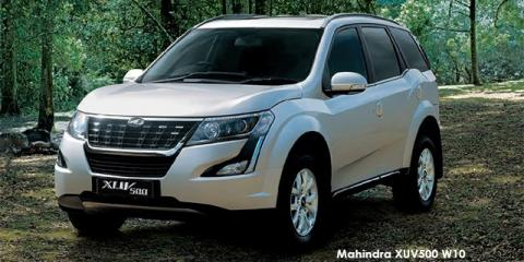 Mahindra XUV500 2.2CRDe W10 - Image credit: © 2019 duoporta. Generic Image shown.