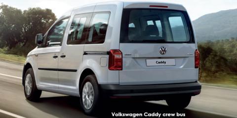 Volkswagen Caddy 2.0TDI crew bus - Image credit: © 2019 duoporta. Generic Image shown.
