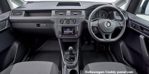 Volkswagen Caddy 1.6 panel van - Image credit: © 2019 duoporta. Generic Image shown.